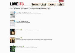 Love146 Educational Resources on Human Trafficking