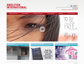Abolition International website screenshot