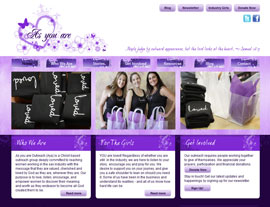 As You Are website screenshot