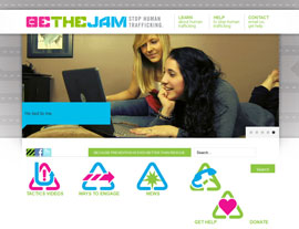 Be The Jam website screenshot