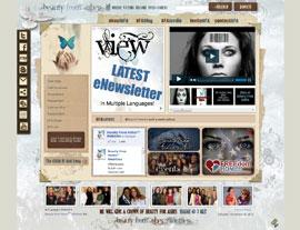 Beauty From Ashes website screenshot