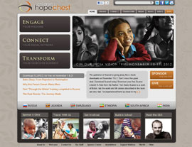 Children's HopeChest website screenshot