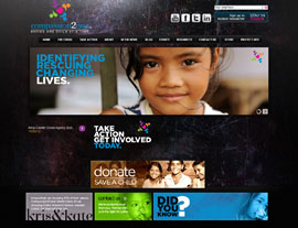 Compassion 2 One website screenshot