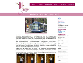 Door to Grace website screenshot