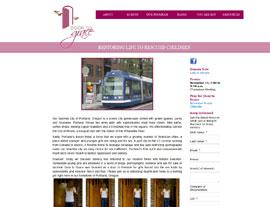 Door to Grace website screenshot