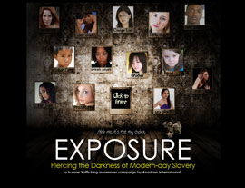 Exposure Campaign website screenshot