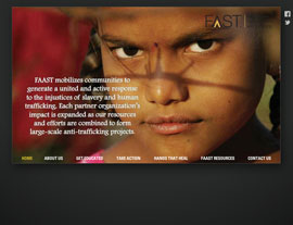 FAAST International website screenshot