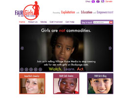 Fair Girls website screenshot