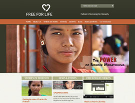 Free for Life International website screenshot