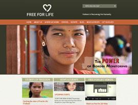 Free for Life International website screenshot