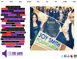 Free-Them website screenshot