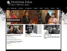 Freedom Firm website screenshot