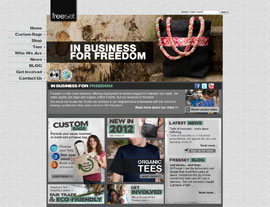 Freeset Global website screenshot