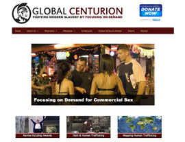 Global Centurion website screenshot