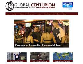 Global Centurion website screenshot