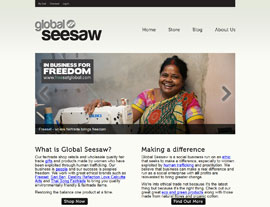 Global Seesaw website screenshot