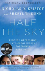 Half the Sky book cover image