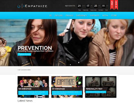 iEmpathize website screenshot