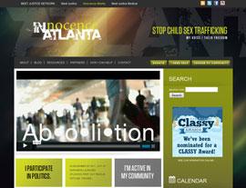 Innocence Atlanta website screenshot