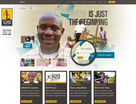 Living Water International website screenshot