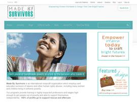 Made By Survivors website screenshot