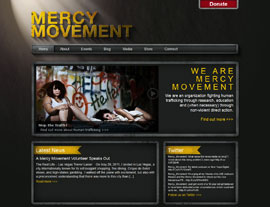 Mercy Movement website screenshot