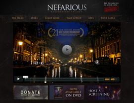 Nefarious website screenshot
