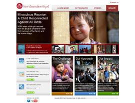 Next Generation Nepal website screenshot
