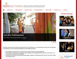 Nomi Network website screenshot