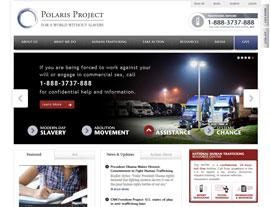 Polaris Project website screenshot
