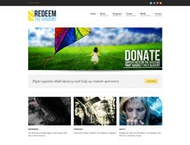Redeem the Shadows website screenshot