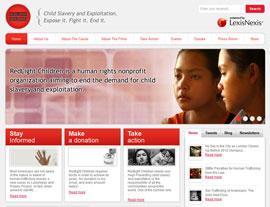Redlight Children website screenshot