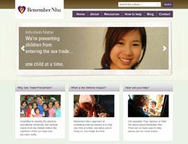 Remember Nhu website screenshot