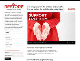 Restore NYC website screenshot