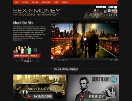 Sex + Money website screenshot