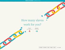 Slavery Footprint website screenshot