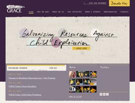Street Grace website screenshot