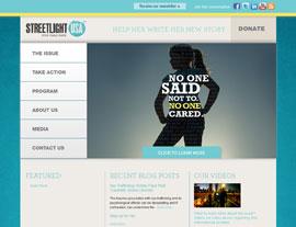 Streetlight USA website screenshot
