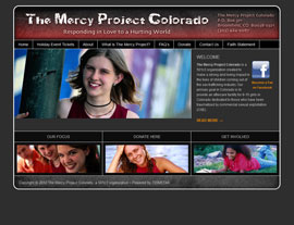 The Mercy Project Colorado website screenshot
