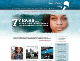 Wellspring Living website screenshot