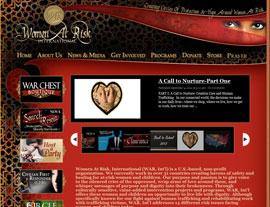 Women at Risk International website screenshot