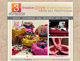 3Strands website screenshot