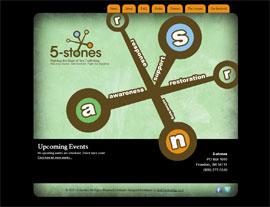 5-stones website screenshot