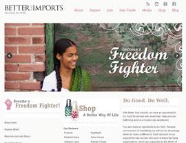 Better Way Imports website screenshot