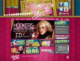 Hookers for Jesus website screenshot