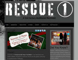 Rescue1 website screenshot
