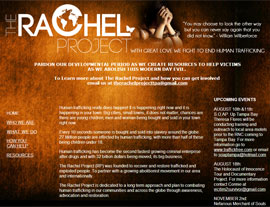 The Rachel Project website screenshot