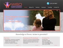 Women's Interfaith Support Organization website screenshot