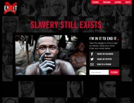 END IT website screenshot