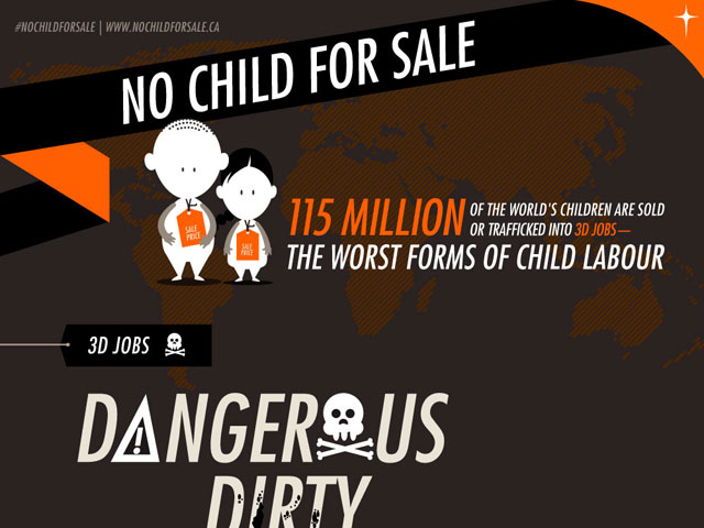 no child for sale infographic
